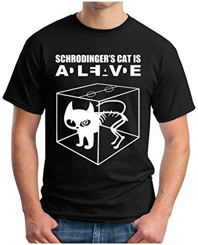 OM3 -  T-shirt - Maniche corte  - Uomo nero Medium
