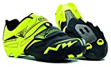 NORTHWAVE SPIKE EVO NERO GIALLO FLUO North wave 41