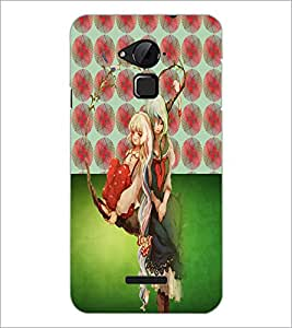 PrintDhaba Friends D-5023 Back Case Cover for COOLPAD NOTE 3 LITE (Multi-Coloured)