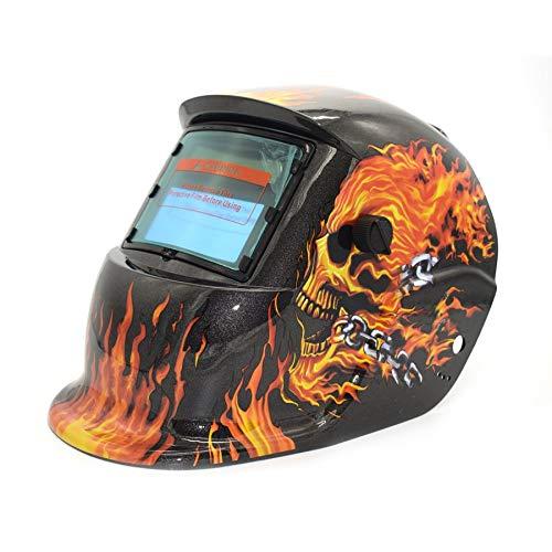358d208a910f8 Solar Powered Auto Darkening TIG MIG MMA Electric Welding Mask Helmet  Welder Cap Lens For Welding