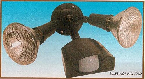 8422248032193 Twin spot PIR Infrared Motion Sensor Security Light