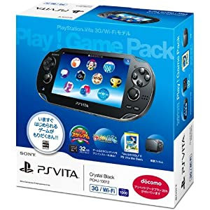 PlayStaiton Vita 3G/Wi-Fi model play! Game Pack (PCHJ-10012)