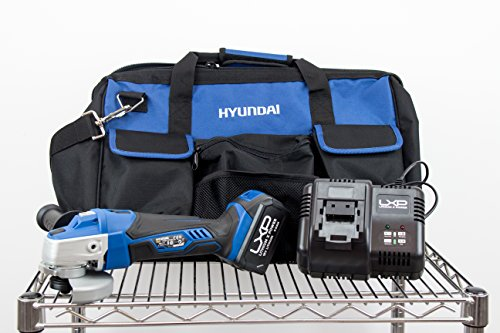 Kit Hyundai - HY-COMBO-1-5 - Amoladora 125mm, 18V + Bateria Ion-Litio