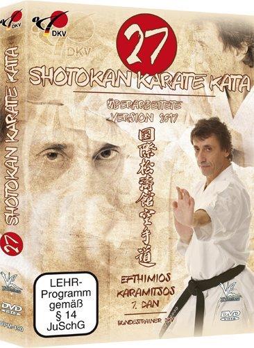27 Shotokan Karate Kata von Efthimios Karamitsos 7.Dan DKV - Version 2017 !!