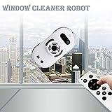 Robot aspirapolvere auto clean anticaduta Smart Finestra Cleaner Detergente per vetri Miglior regalo per Natale bianco