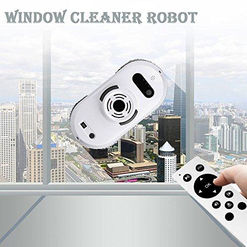 Robot aspirador Auto Clean Anticaída Smart ventana Cleaner Limpiador para cristal mejor regalo para Navidad blanco