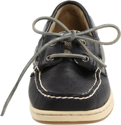 Sperry - Scarpe basse stringate, Donna Nero (Black/Oat)