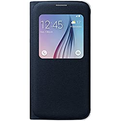 Samsung EF-CG920BBEG Etui Folio de Protection S-View pour Samsung Galaxy S6 - Noir