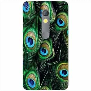 Design Worlds - Moto X play Designer Back Cover Case - Multicolor Phone Cover