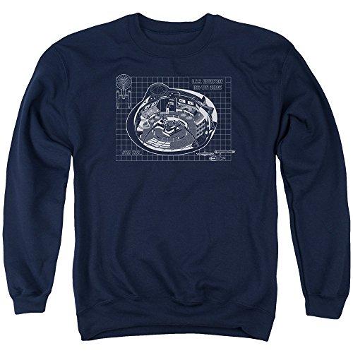 Star Trek - Mens Bridge Prints Sweater