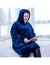 Rancross Uggle - Sudadera con Capucha para Hombre, Mujer, algodón, Color Azul
