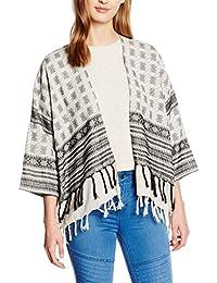 Pieces Pcbisla Kimono Ip, Gilet Femme