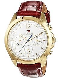 Tommy Hilfiger 1781702 Montre-bracelet de sport à quartz analogique pour homme Bracelet en cuir