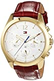 Reloj de pulsera de Tommy Hilfiger ,informal, analógico, de cuarzo y piel