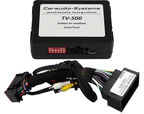 Caraudio-Systems TF-UCON52 Video Freischaltung mit Uconnect 8.4AN/RA4 und 8.4A/RA3 und 52-Polig Stecker schwarz/silber
