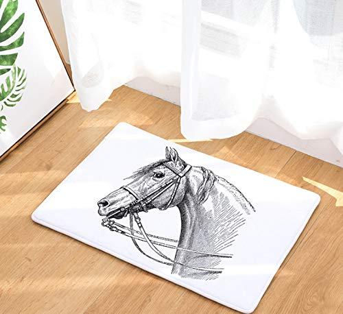 erdekopf Druck Kissen Tür Pad Digitaldruck Pad Bad Küche Bad Lange Wasser Saug Anti-Rutsch-Pad Teppich ()