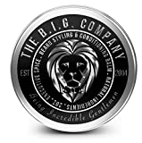 B.I.G. Beard Balm - All natural ingredients - Premium beard balm for beards, mustache, & goatee - Promotes healthy beard growth - All day leave in beard conditioner