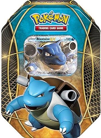 Pokemon Blastoise EX Power Trios Tin Card