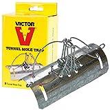 Victor M665U Trappola per Talpe da Tunnel, Argento, 1x1x1 cm