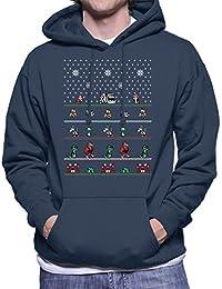 Chip N Dale Christmas Rangers Men's Hooded Sweatshirt