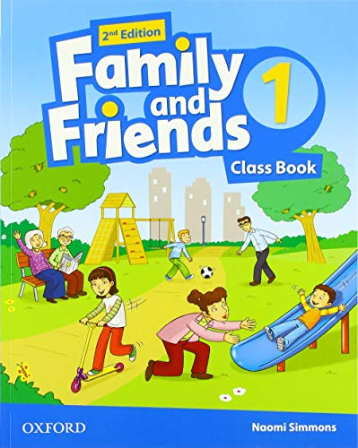 Family & friends 1 - class book with code new edition - second edition (2019)