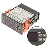 Asixx Hygrostat, AC220V Hygrostat avec Sonde Contrôleur d'Humidité de l'Air avec Capteur pour Humidificateur, Déshumidificateur, Séchoir, Congélateur de Médicament, etc, 1% RH - 99% RH