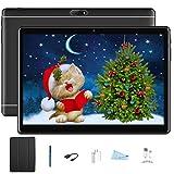 Tablet 3G 10 Pollici Con Wifi Offerte,8Pcs Dual SIM 2GB RAM 32GB ROM Octa-Core 5000mAh Batteria Android 7.0 1920x1200 Pixel WiFi/Bluetooth/OTG V Mobile (806,Nero)