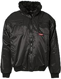 """Planam Komfort Jacke """"Gletscher"""" Größe L, schwarz, 358052"""