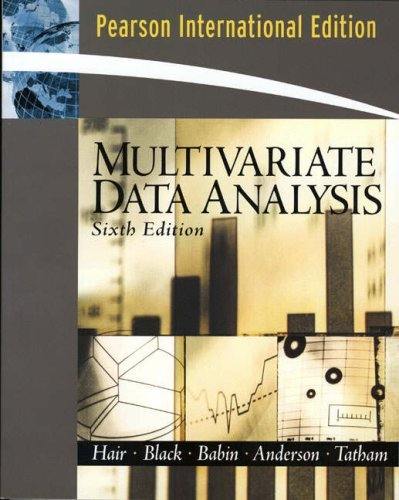 Multivariate Data Analysis by Joseph F. Hair (2005-10-01)