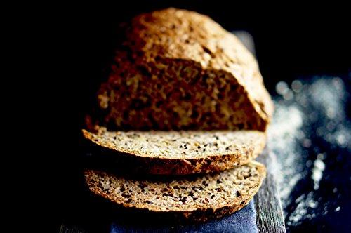 PALEO Brot-Backmischung Kastanie: BIO | 20% Eiweiss | Getreidefrei, Glutenfrei, Hefefrei | Vegan & Paleo | ohne zugesetzten Zucker | Hergestellt in Deutschland | Paleo To Go | Ergibt 4 Brote (1.8 kg) - 4