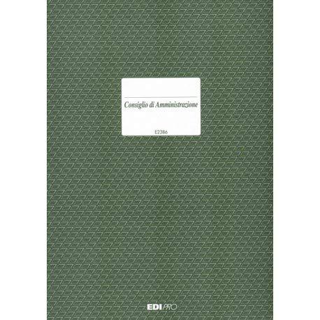 Edipro Verbal Advice 92pagine modulo e libro contabile