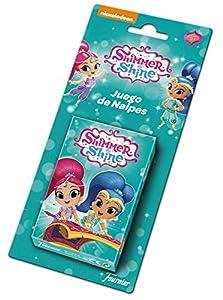 Shimmer And Shine- Shimmer & Shine Baraja de Cartas Infantil, (Naipes Heraclio Fournier 1034801)