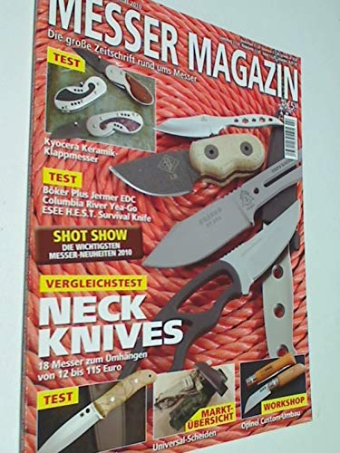 Messer Magazin Nr. 2 / 2010 Test: Spyderco Bushcraft, Böker Plus Jermer EDC, Columbia River Yea-Go, ESEE H.E S.T. Survival Knife. Zeitschrift, 4195012305505