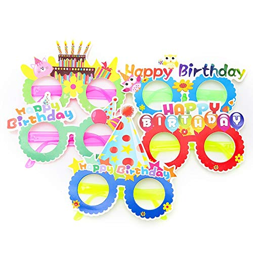 Party Diy Decorations - 1pc Children Party Gift Cartoon Funny Glasses Halloween Paper Happy Birthday Novel Sunglasses - Party Decorations Party Decorations Halloween Pumpkin Craft Sunglas