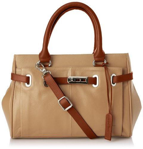 27e3b491fd5 La Bagagerie Women's Diane Pm Handbag Beige Beige - Beige (Sable/Moka)  Size: Taille Unique