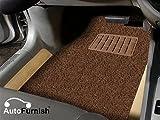 #6: Autofurnish AFFM500968 Universal Car Foot Mat (Set of 3, Brown)