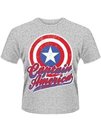 Plastic Head Marvel Avengers Assemble Captain America, Sweat-Shirt Homme