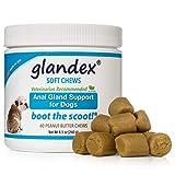 Glandex® Weiche Kaubonbons 60Zählen, Anal Drüse Faser & Probiotische Verdauung Nahrungsergänzungsmittel für Hunde