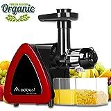 Licuadora Prensado en Frio,Aobosi Licuadora Frutas Verduras,Extractor de zumos con Función...