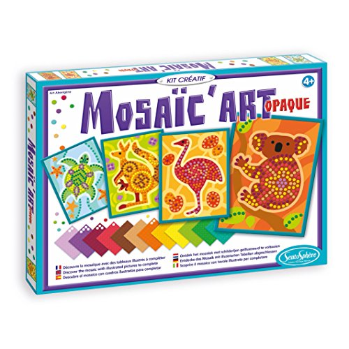 Sentosphère - 954 - Loisir Créatif - Mosaïc' Art Opaque - Aborigène