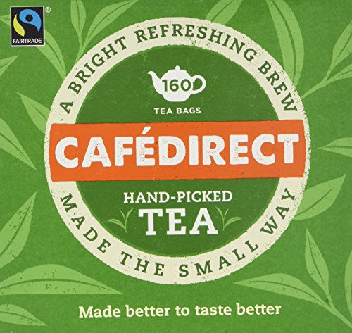 Cafédirect Fairtrade Everyday Tea, Pack of 6, 160-Count