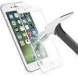 Verre Trempé iPhone 8, Orlegol Protection écran iPhone 8 Film Protection Anti-scratch écran Protecteur 9H Dureté HD Vitre Tempered pour iPhone 7/iPhone 8 Screen Protector - Blanc