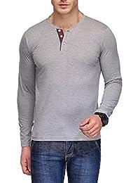 TSX Cotton Men's Henley T-Shirt