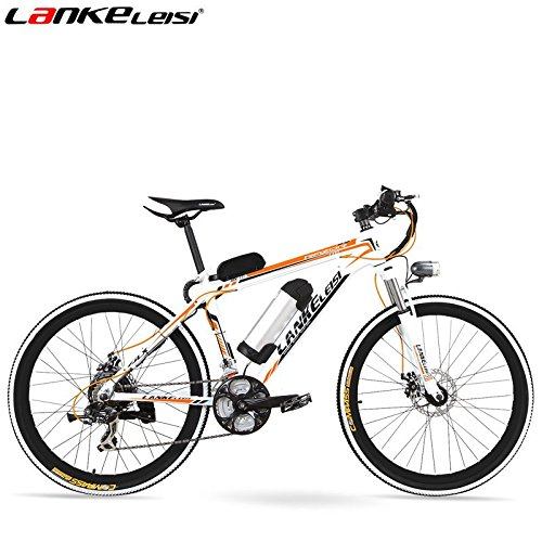 21 SPEED  26 * 1 95  36/48 V  ALUMINUM ALLOY FRAME  ELECTRIC BICYCLE  MOUNTAIN BIKE  STRONG POWER   COLOR NARANJA  TAMAÑO 48V/10A  TAMAÑO DE RUEDA 26 00 INCHES