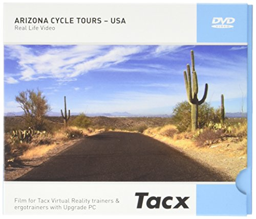 Tacx Real Life Video Arizona Cycle Tours - USA DVD