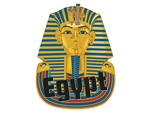 GRAZDesign Wandtattoo Pharaon - Wanddeko Ägypten - Türtapete Egypt / 40x30cm / 721699_30