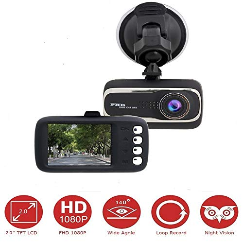 TechCode Full HD Autokamera Auto Dash Camera Auto Kamera gebraucht kaufen  Wird an jeden Ort in Deutschland