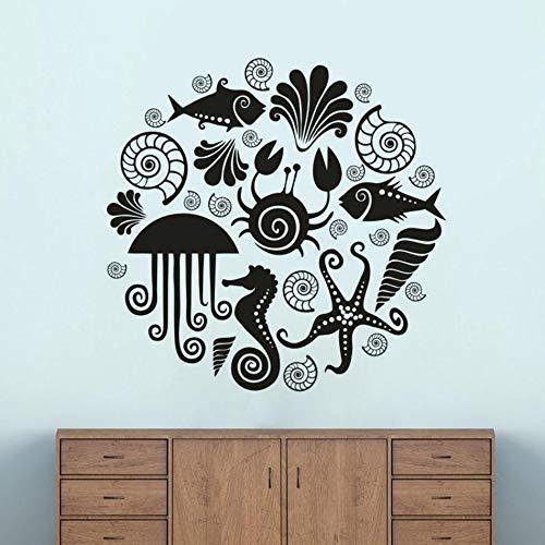 Dongwall Chemie Klebstoff Schule Klassenzimmer Dekorieren Koffein Molekül Periodensystem Elemente Vinyl Lernen Wandkunst Aufkleber 73 * 57 cm
