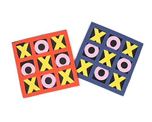 vors - Schaum Tic-Tac-Toe Games - Bulk Toys, Goody Bag Füller, Treasure Box Preise für Kinder 1 Dutzend 12,7 x 12,7 cm Partyspiele ()
