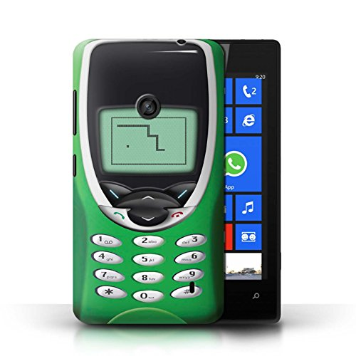 Coque en plastique pour Nokia Lumia 520 Collection Portables rétro - Nokia 8210 rouge Nokia 8210 vert